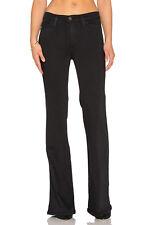 $198 Current Elliott Girl Crush Jeans Flare 70's Farrah Costume Black Tar 28