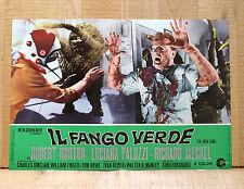 IL FANGO VERDE fotobusta poster Fukasaku SyFy The Green Slime 1968