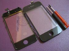 Kit Vetro Touch screen per Apple Iphone 4S x lcd display Nuovo Nero +2 giraviti
