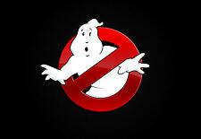 A4 POSTER-Ghostbusters Logo (Blu-Ray DVD bill murray dan aykroyd Sigourney)