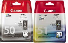 ORIGINAL CANON PG50+CL51 PIXMA MP450 MP460 MX300 MX310 IP2200 DRUCKER PATRONE