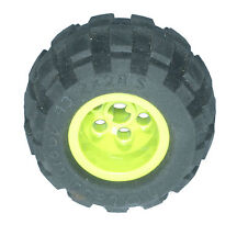 Missing Lego Brick 6579 Black Tyre 43.2 x 28 Balloon Small & 6580 Lime Wheel