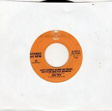 Joe Tex-Ain't Gonna Bump No More (VG+)