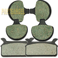 Front Rear Brake Pads For Harley Ultra Electra Glide Classic 1986-1999 1987 1988
