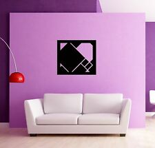 Wall Stickers Vinyl Decal Abstract Modern Square Decor z1248