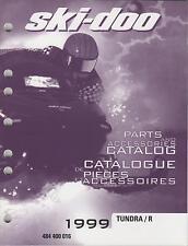 1999 Ski-Doo Snowmobile Tundra/R Parts & Accessories Manual