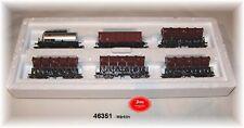 MÄRKLIN 46351 Muldenkippwagen-Set der DB 6-teilig #NEU in OVP#