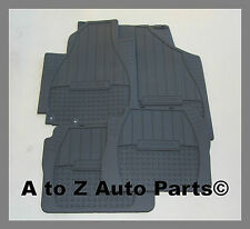 2010,2011,2012 Hyundai Santa Fe GLS Limited All Weather Rubber Floor Mats, OEM