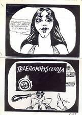 TELEROMPO  8 pag107  Planche Originale