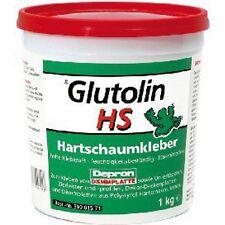 Colla per Polistirolo Glutolin Hs 1 Kg ideale per incollaggio Pannelli Depron