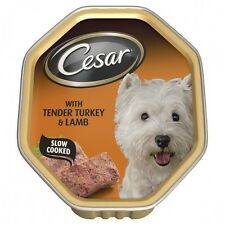 Cesar Turkey & Lamb 14 x 150g Wet Dog Food Trays Multipack