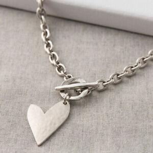 Danon Jewellery True Love Silver Heart Necklace