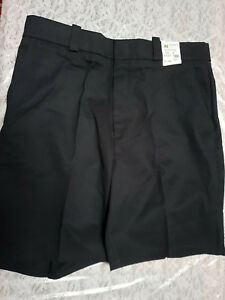 NWT Horace Small Men's Black Work Shorts Size 37R