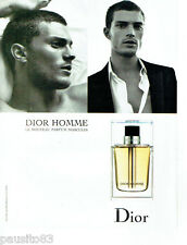 PUBLICITE ADVERTISING 046  2005   Dior  parfum pour homme Justin Timberlake