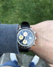 Vintage Hamilton Intra Matic Automatic Chronograph Watch Bulova Heuer HTC 39mm