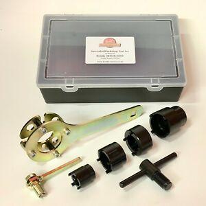 Honda CB400F 400/4 SOHC Four 1970s Specialist Workshop Tool Set x7 tools. HWT080