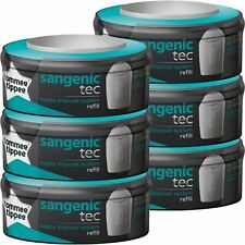 Tommee Tippee Sangenic Tec Nappy Disposal System Refill Cassettes - 6 Pack