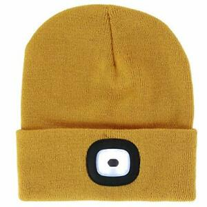 Night Scout Rechargeable Led Beanie (Mustard)