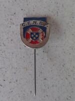 Vintage badge pin C.E.N.E.F  2/-