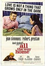 ALL THE WAY HOME 1963 DVD STARRING JEAN SIMMONS, ROBERT PRESTON