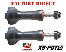 "High Torque GoPro Thumbscrews ""2-Pack"" - Tighten with Quarter - by XS Foto"