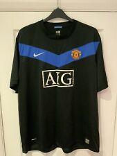 Mens Manchester United Away Shirt XXXL 09/10 Gibson 28