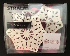 Ikea 3/Set Christmas Holiday Led Indoor Snowflake Lighting Decoration Strala New