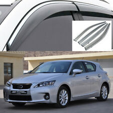 4Pcs for 2011-2016 Lexus CT 200h Car Window Visor Vent Shade Rain/Sun/Wind Guard