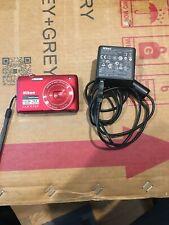 Nikon COOLPIX S4100 14.0MP Touchscreen Digital Camera Red