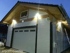 Holzgarage - Mahlow - für Hebebüne, Satteldach KVH 6,20 x 10,00 m als Bausatz
