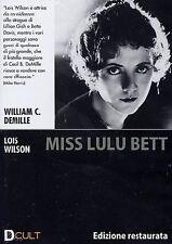 Dvd **MISS LULU BETT** Edizione Restaurata di William C. Demille con Lois Wilson