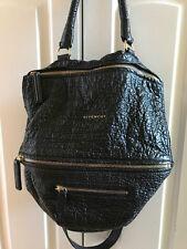 Givenchy Medium Pandora Bag RARE Pebbled Black Leather