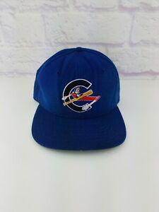 RARE Vtg 90's MiLB Columbus Clippers Minor League Baseball New Era SnapBack Hat