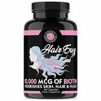 Biotin and Keratin 10,000 MCG of Hair Envy All Natural Remedy - 60 Count