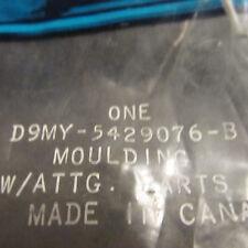 NOS 1979 - 1986 MERCURY GRAND MARQUIS RH REAR QUARTER PANEL MOLDING D9MY5429076B