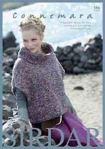 Sirdar Connemara Aran Book  17 Designs for men, women and girls 386