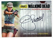 The Walking Dead Season 4 Part 2 Christian Serratos Autograph #CS2 - QTY AVAIL