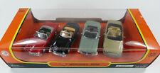 Set - 4x Mercedes-Benz (300 SL 280 SL 350 SL 600 SL) New Ray 48405 1:43 OVP [K4]