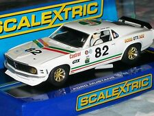 1:32 SLOT CAR FORD SCALEXTRIC HORNBY C3538 FORD MUSTANG BOSS 302 CASTROL GTX '69