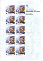 Australia Post Decimal Sheet - 2002 - Winter Olympics Team - Mini Sheet - MNH