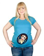 Maternity S-XXL Star Wars Leia Princess Mom Baby Gift Cotton Funny Top T-Shirt