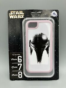 Disney Star Wars The Mandalorian Apple iPhone 6/6s/7/8 Cellphone Case NEW RARE