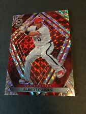 Albert Pujols 2020 Chronicles Spectra Red Prizm Ssp #d 25/25!