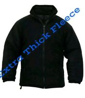NEW MENS EXTRA THICK FLEECE HEAVY DUTY WORK JACKET PADDED WARM WINTER SIZE