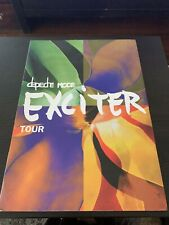 Depeche Mode Exciter Tour Book