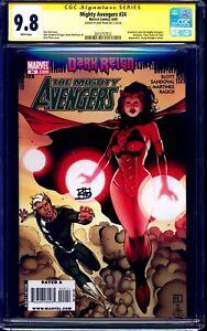 Mighty Avengers #24 CGC SS 9.8 signed Khoi Pham SCARLET WITCH WANDAVISION DISNEY