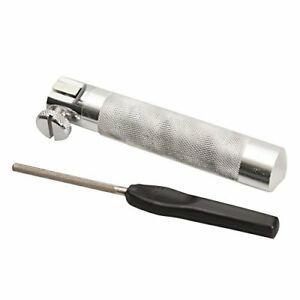 NGT Hook Stainless Sharpening Vice Clamp And Fishing Tackle Hook Sharpener File