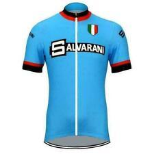 Retro 1972 Salvarani Cycling Jersey Maglia da ciclismo
