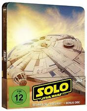 **Solo**: A Star Wars Story 3D Steelbook [3D Blu-ray Limited Edition]NEU+OVP