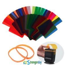 20x Flash Speedlite Color Filters Gel for Canon Nikon Yongnuo Panasonic Sony Cam